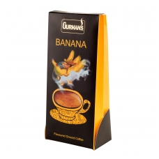 GURMAN'S BANANA flavoured ground coffee125 g