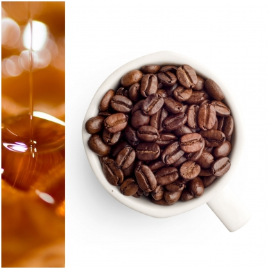 GURMAN'S MAPLE SYRUP flavoured coffee beans