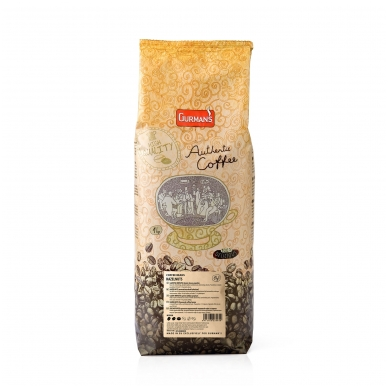 GURMAN'S HAZELNUT flavoured coffee beans 2