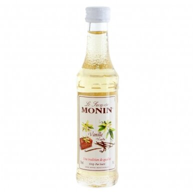 MONIN Vanilės sirupas, 50 ml